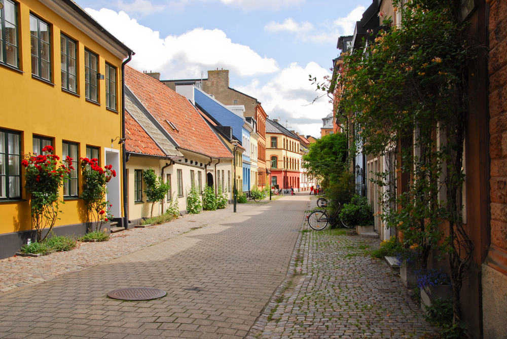 Malmø i Sverige