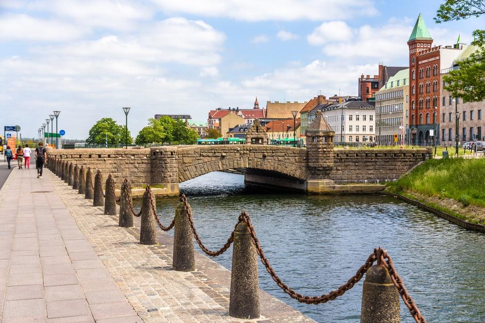 Petri broen - Malmø i Sverige