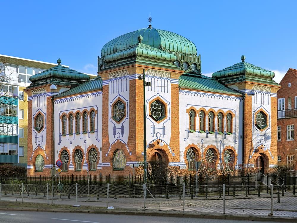 Synagoge - Malmø i Sverige