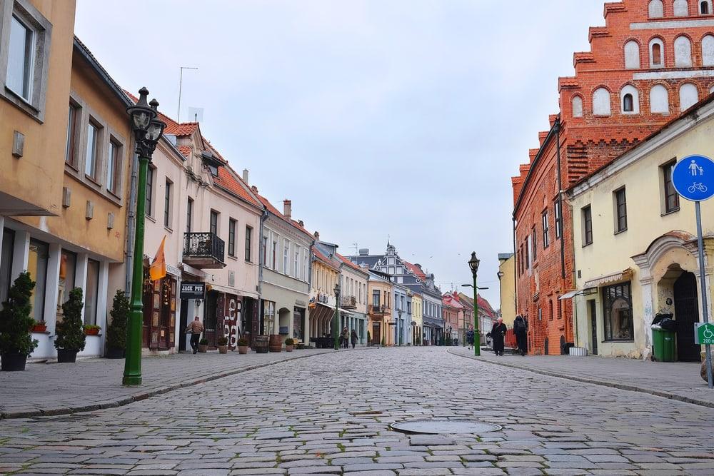 Kaunas i Litauen: 3 nætter på 4-stjernet hotel kr. 783 - inkl. fly ⋆ RejseSpion.dk