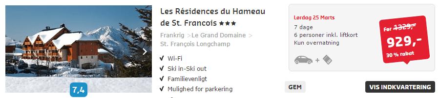 Skiferie i Frankrig