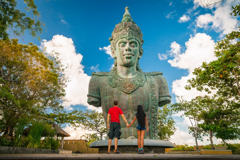 Statue - Bali i Indonesien