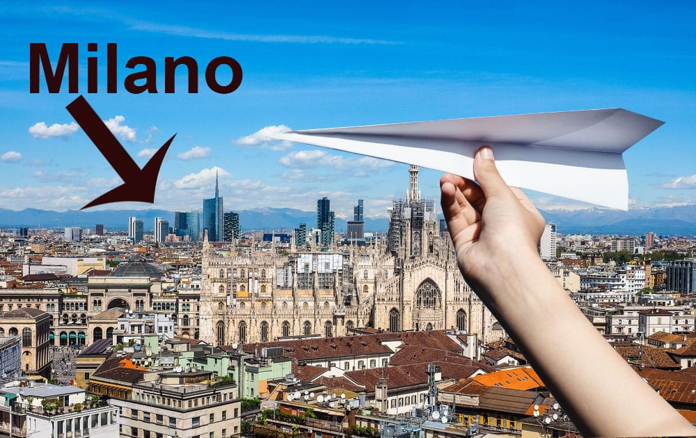 Flyv billigt til Milano i Italien