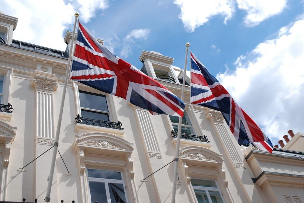 Union Jack - London i England