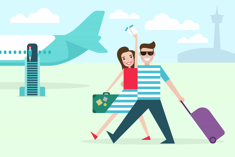 Billige flybilletter i juli