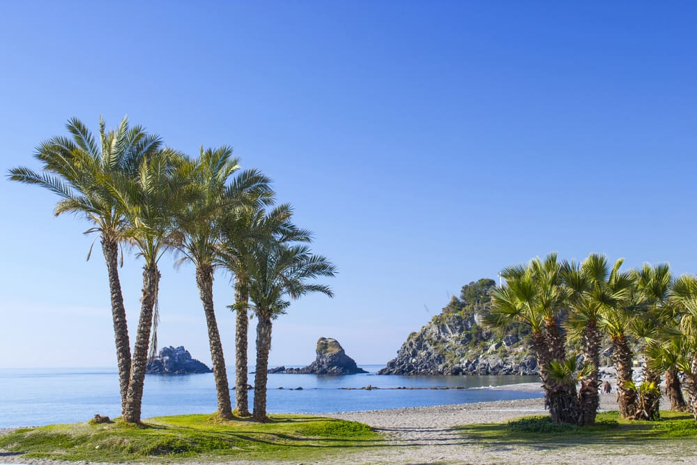 Almunecar - Costa del Sol i Spanien