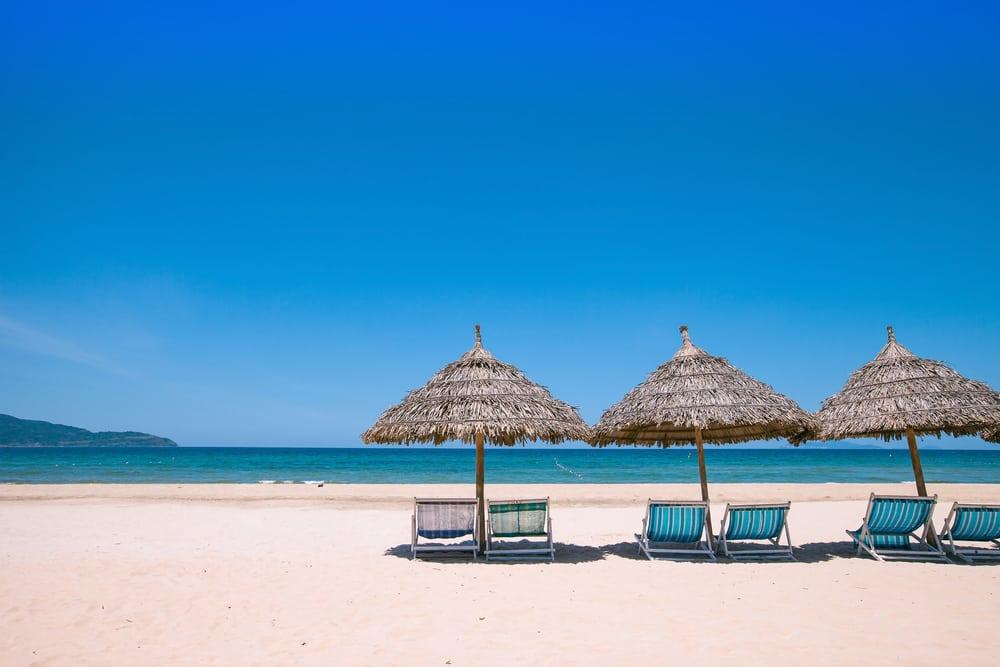 Strand i Da Nang - Vietnam