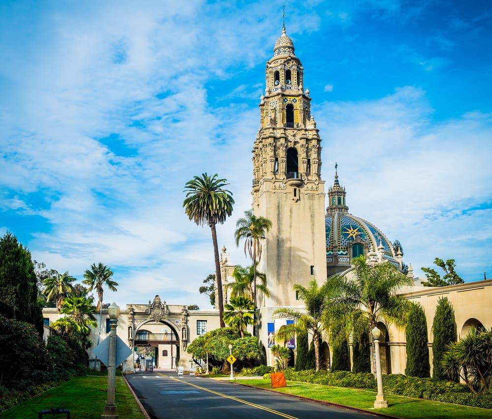 Balboa Park - San Diego i Californien