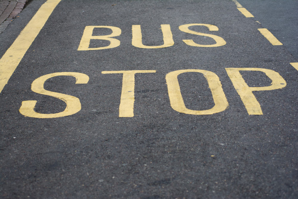 Transport med bus i Californien