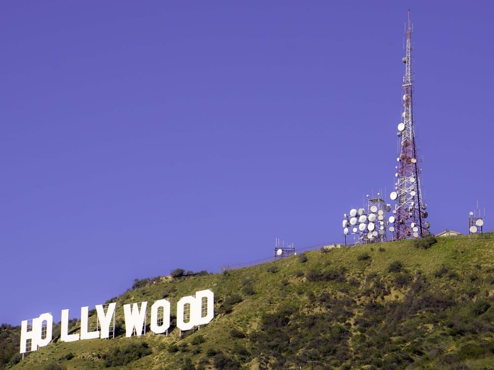 Det ikoniske Hollywood skilt