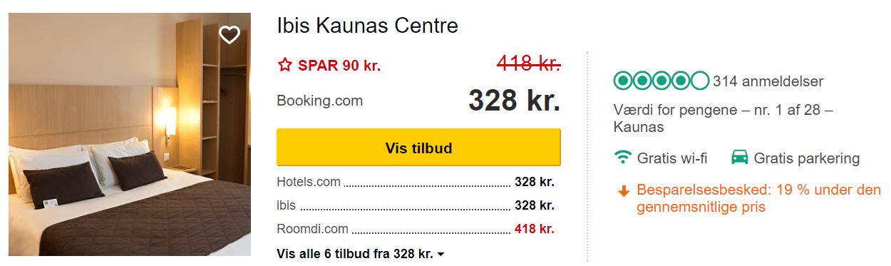 ibis Kaunas Centre - Hotel i Kaunas i Litauen