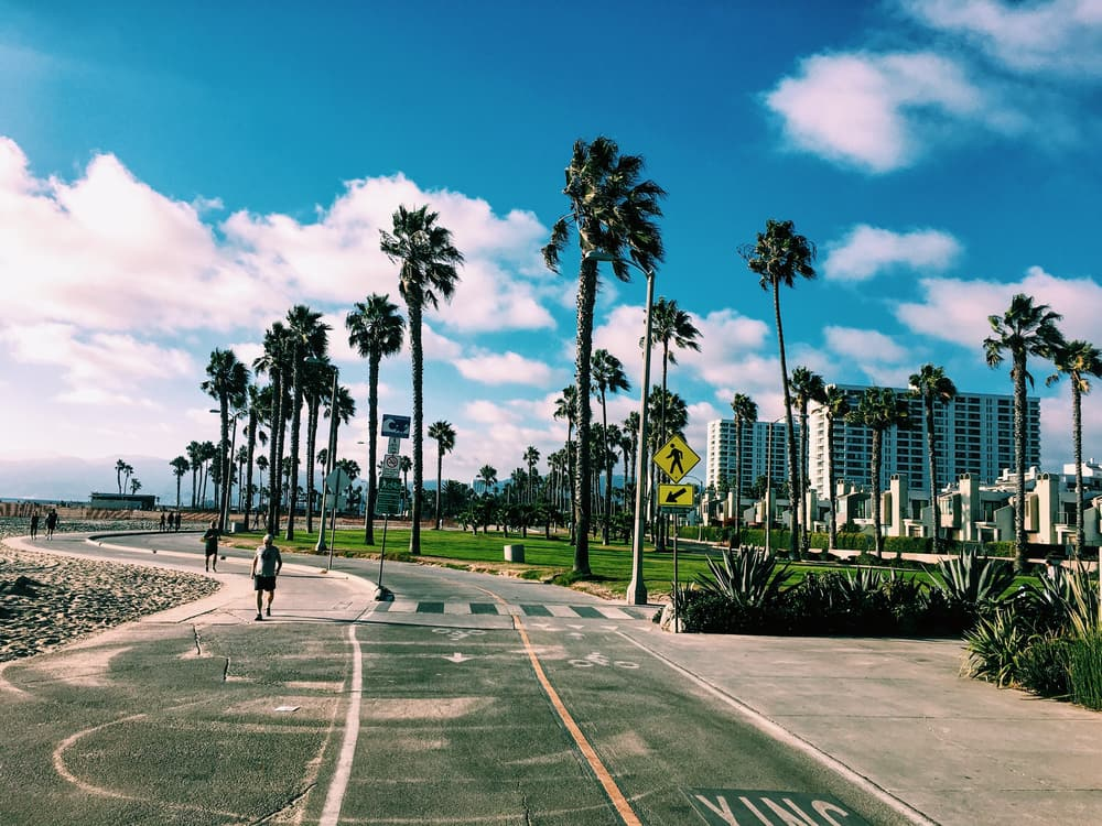 Venice Beach - Los Angeles i Californien