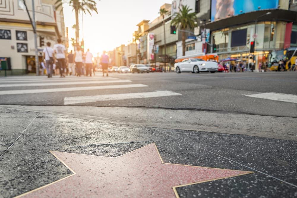 Hollywood Boulevard - Los Angeles i Californien