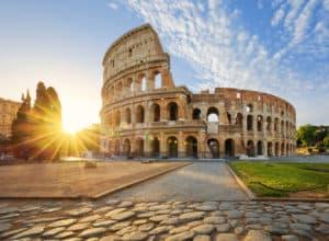 Colosseum - Rom i Italien
