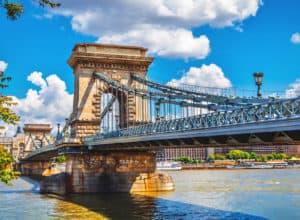 Kædebroen - Budapest i Ungarn