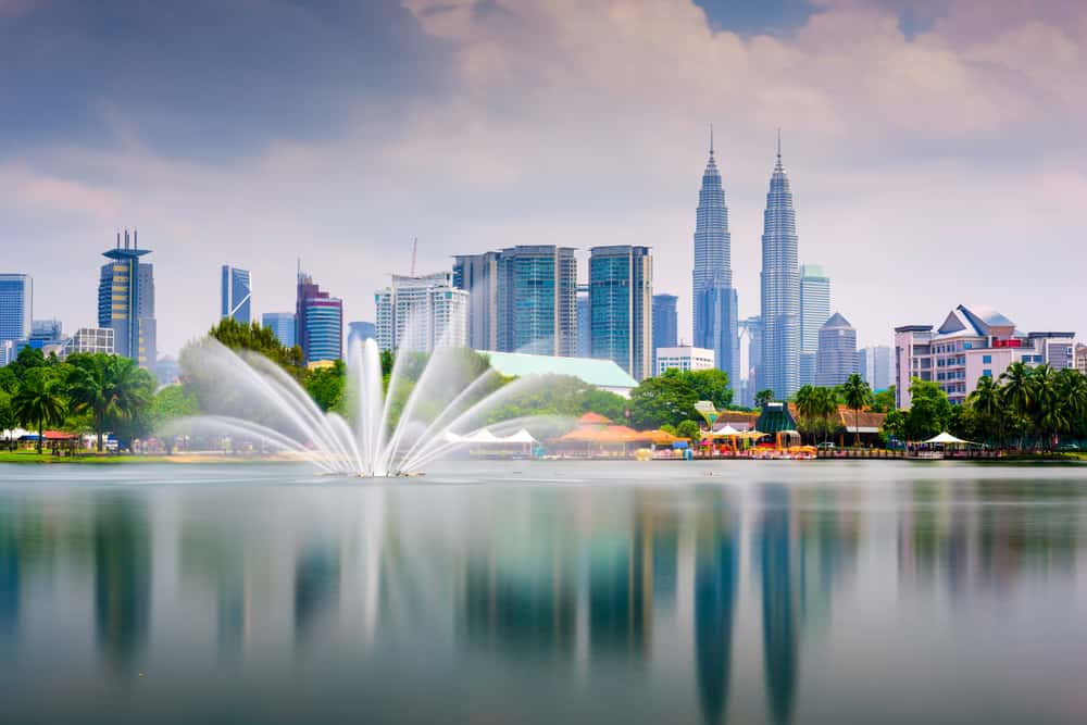 Titiwangsa Park i Kuala Lumpur