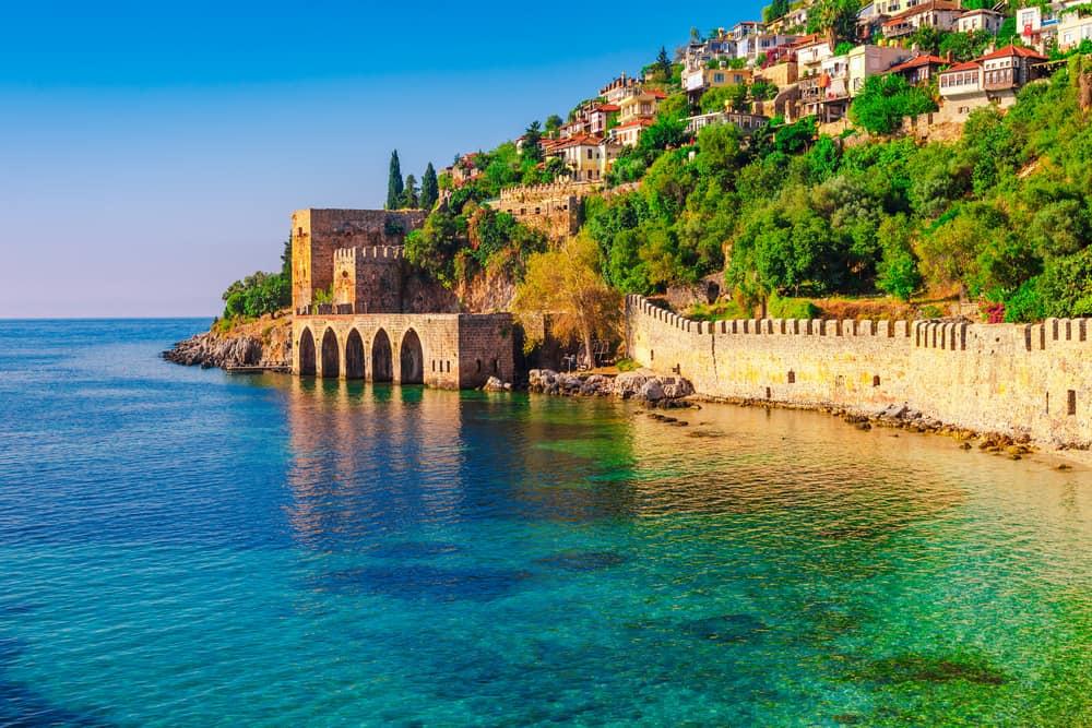 Sommerferie i Alanya i Tyrkiet