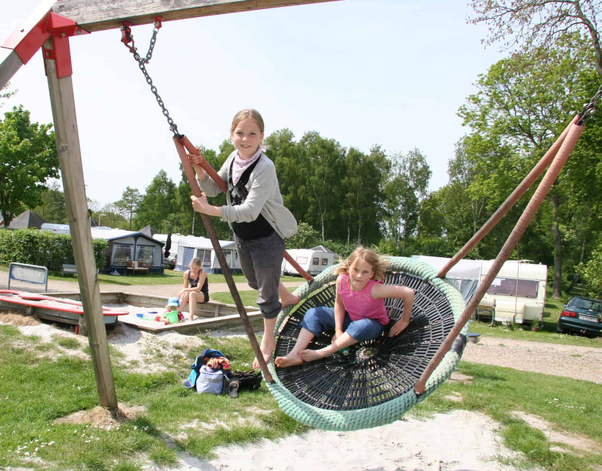 Sommer i camping Danmark
