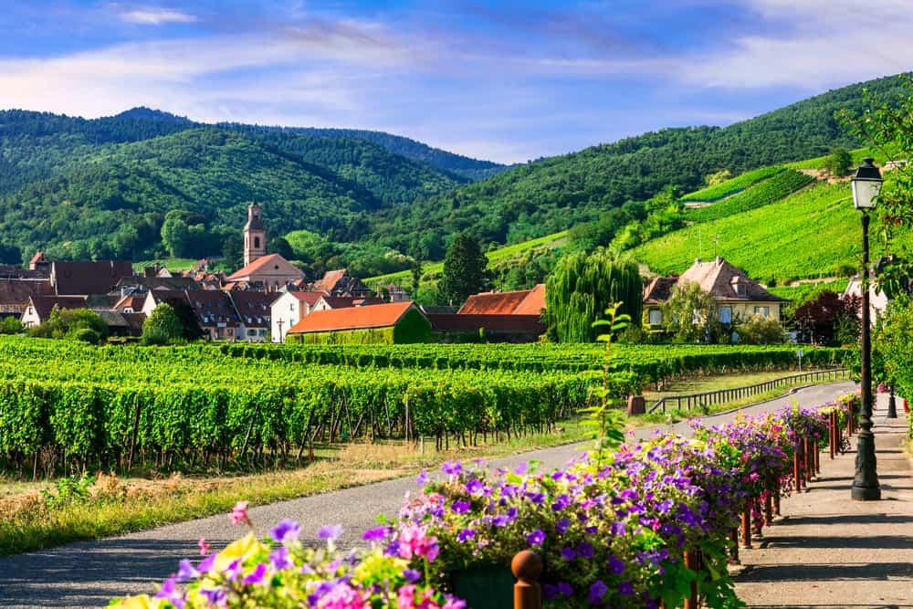 Ferie i Alsace i Frankrig