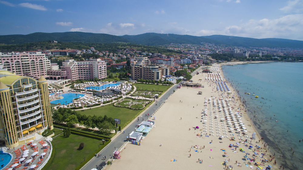 Ferie i Sunny Beach i Bulgarien