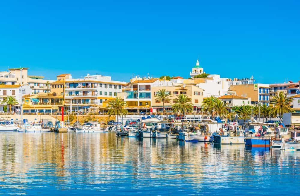Cala Ratjada på Mallorca i Spanien