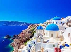 Billige flybilletter til Santorini fra København