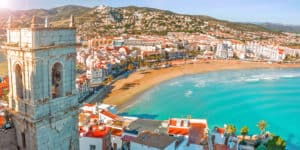 Storbyferie i Valencia i Spanien