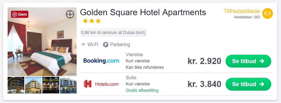 Golden Square Hotel Apartments - Dubai