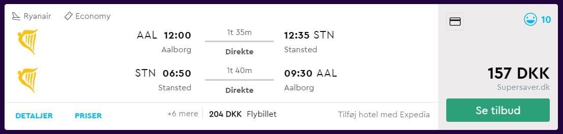 Billige fly til London