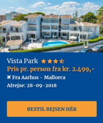 Charterferie på Mallorca i september 2018