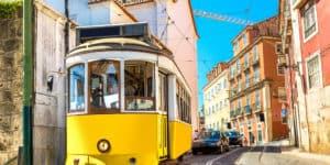 Miniferie i Lissabon