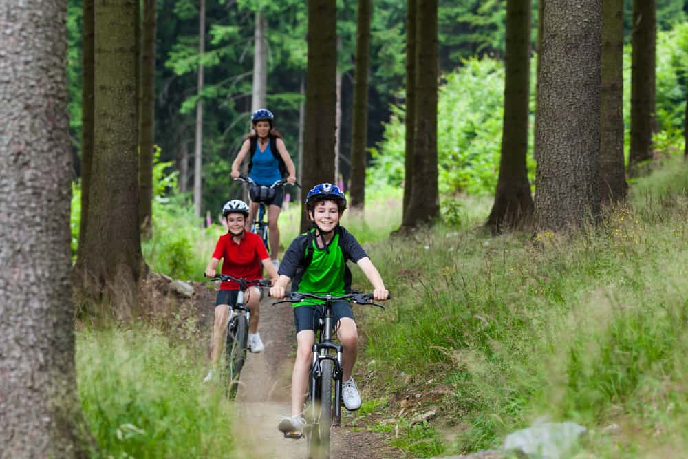 Mountainbike er for hele familien