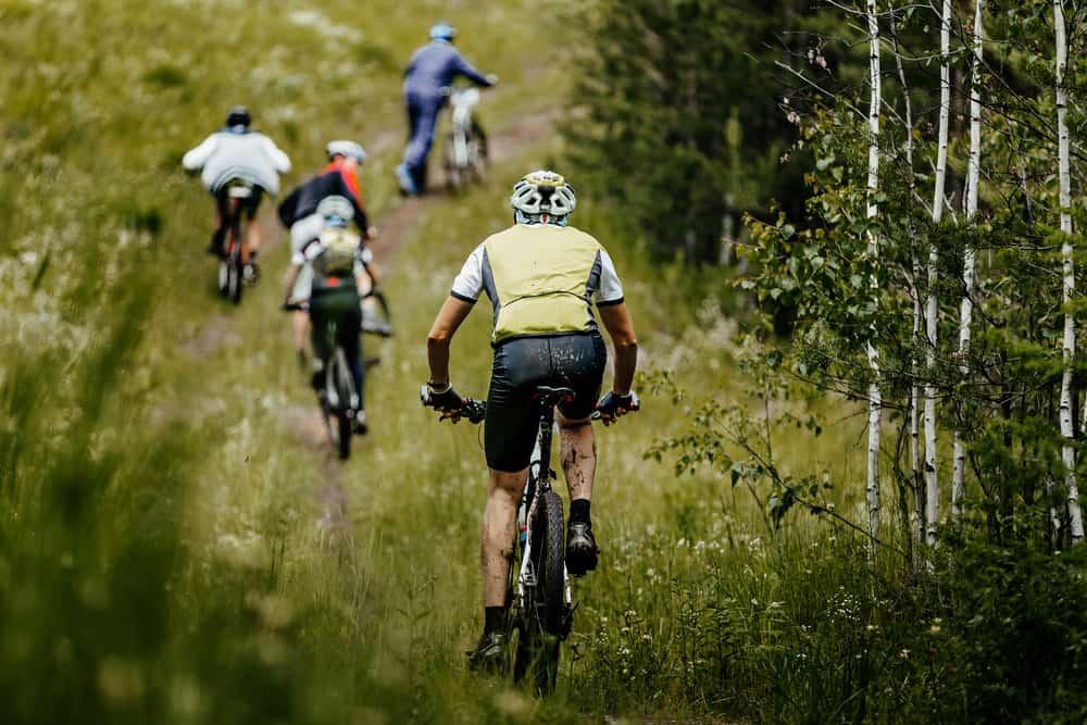 Skovtur på mountainbike