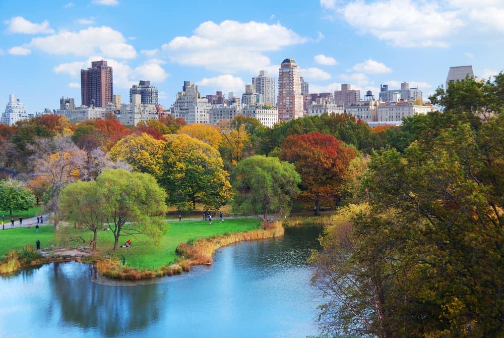 Central Park i New York - USA