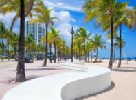 Strand i Fort Lauderdale - USA
