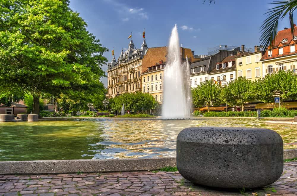 Baden Baden i Tyskland