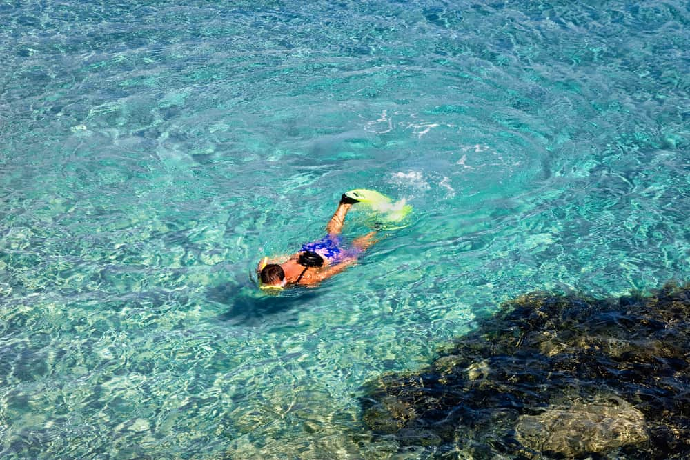 Dykning på Sardinien