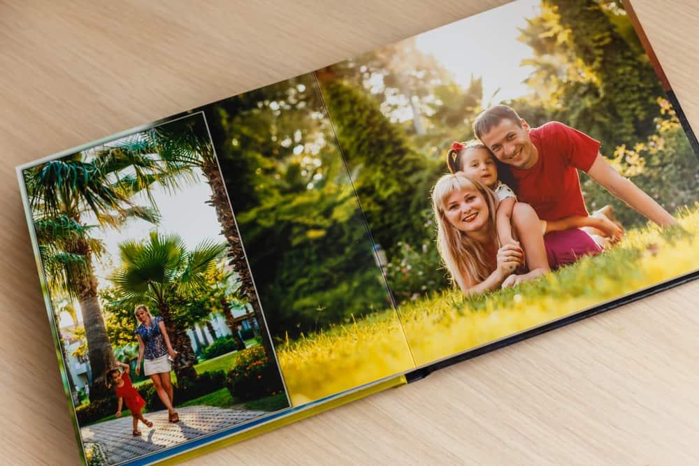 Saml feriebillederne i en fotobog