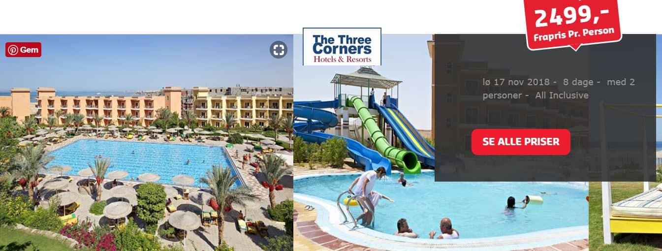 Charterferie i Hurghada