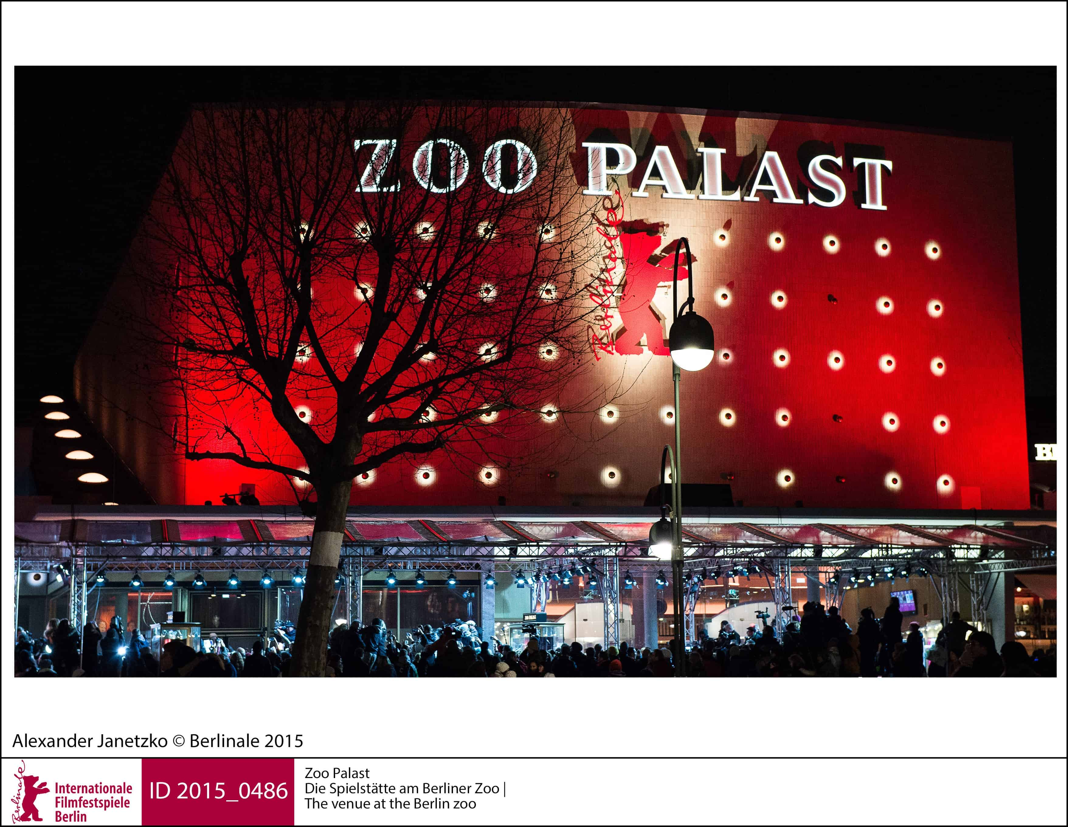Indgangspartiet til Zoo Palast ved Berliner Zoo