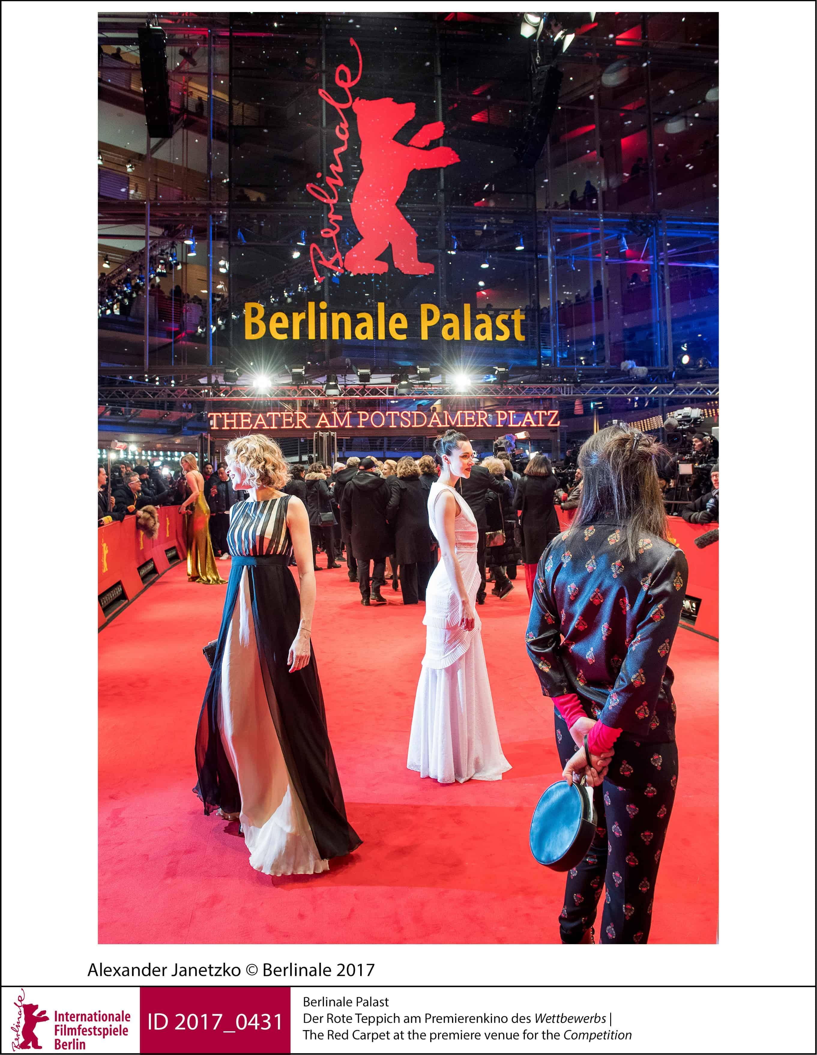Kendisser på det røde tæppe ved Theater am Potsdamer Platz i forbindelse med Berlinalen i Berlin.
