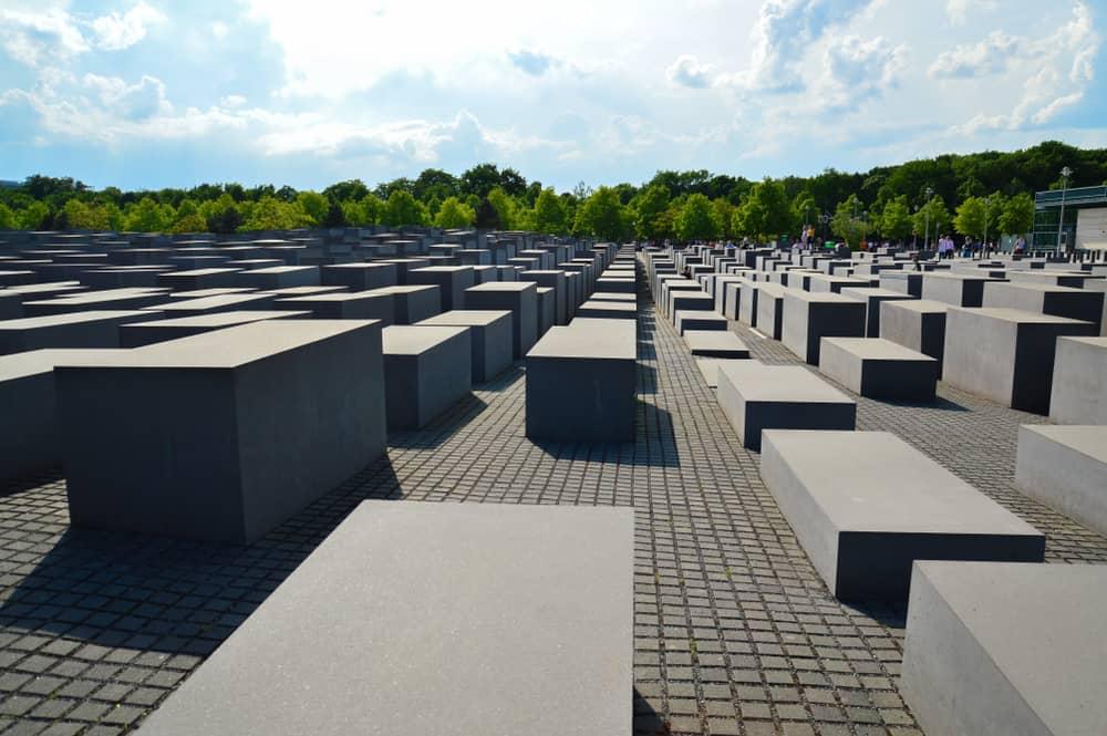 Holocaust Monumentet - mindesmærke for Europas dræbte jøder