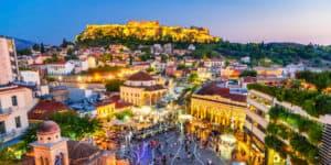Akropolis i Athen - Grækenland