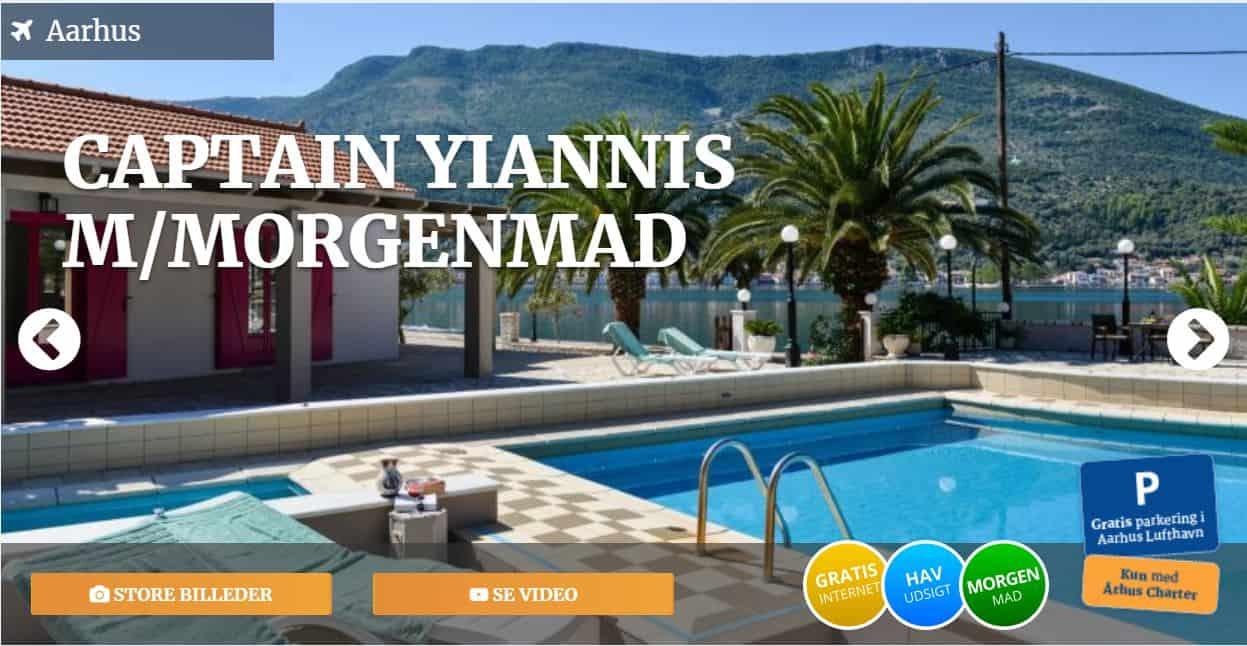 Captain Yiannis - Hotel i Grækenland