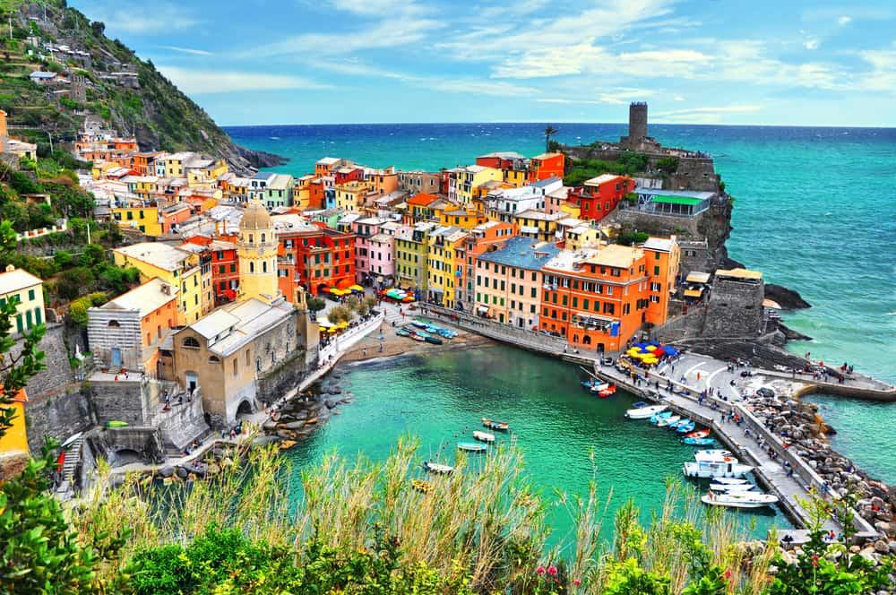 Cinque Terre i Italien