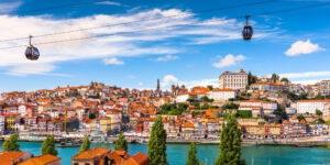 Douro-floden i Porto - Portugal