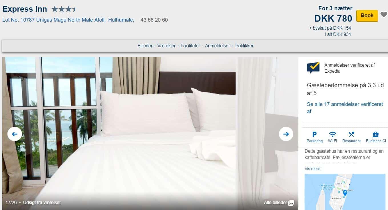 Express Inn - Hotel på Maldiverne