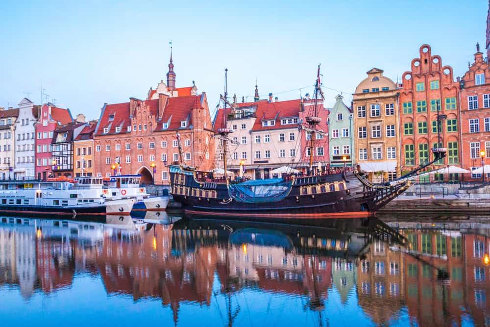 Ferie i Gdansk i Polen