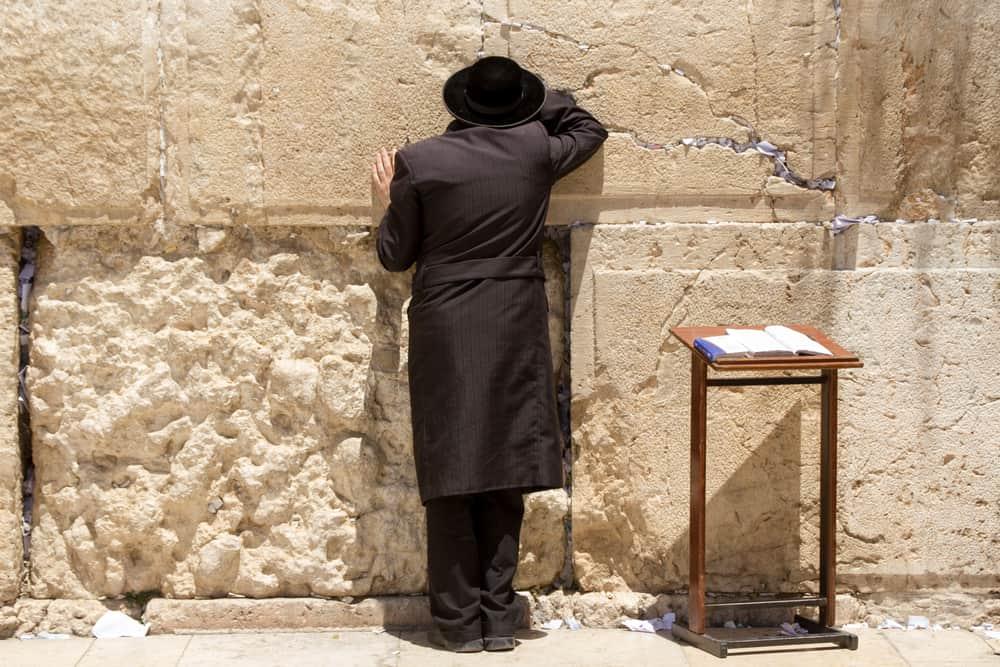 Grædemuren i Jerusalem