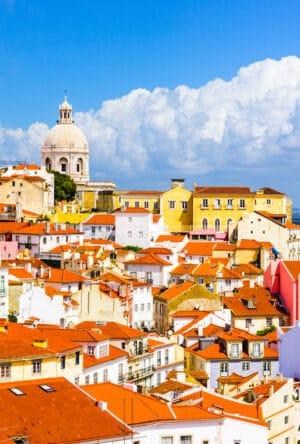 Lissabon i Portugal